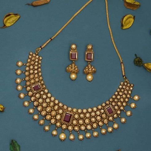 haar Kundan 916 Bridal Set Rajputi Gold new gold