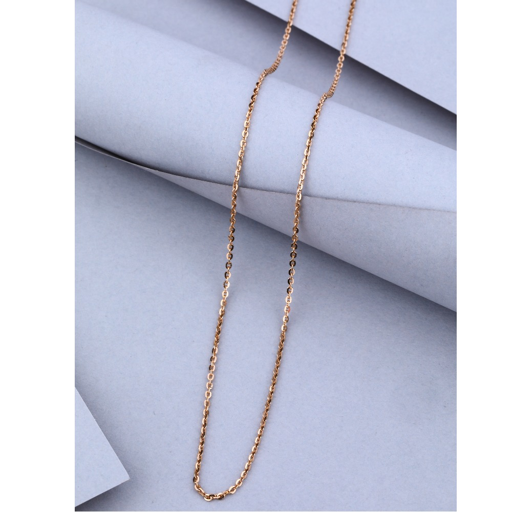 22KT Gold Simple Design Chain
