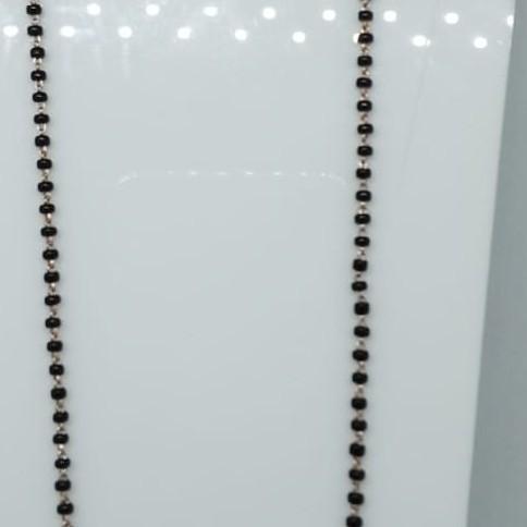 76 Rose Gold  Beads Kidiya Sher RMS81