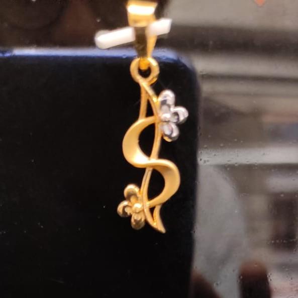 22 kt gold pendant