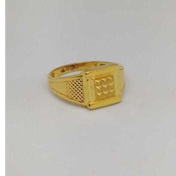 22 Kt  Gold Casting Gents Ring