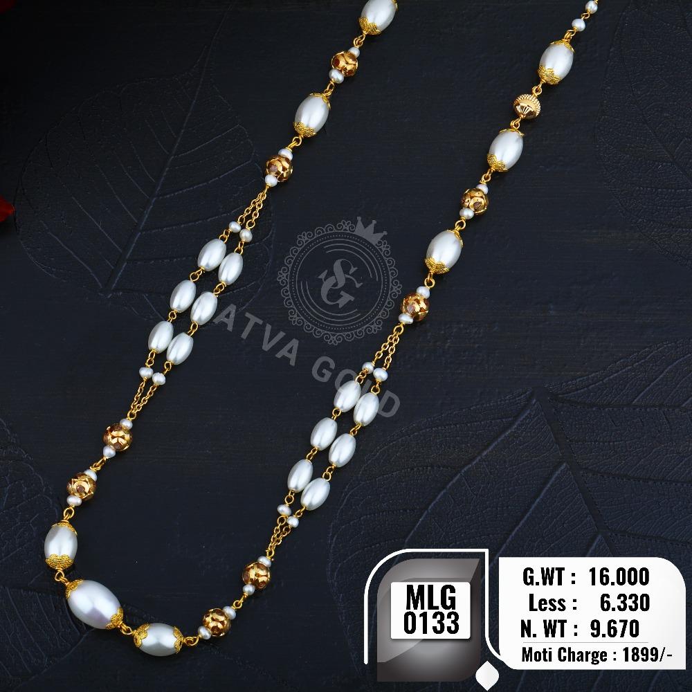 916 gold mala MLG-0133