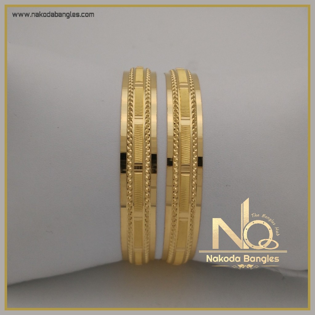 916 Gold Khilla Bangles NB-332