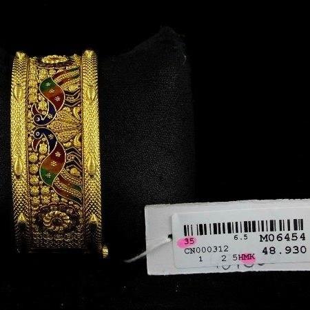 916 Culcatti Antique Single piece Kangan