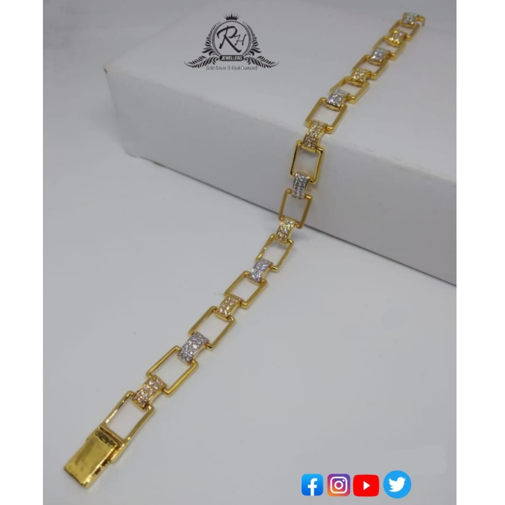 22 carat gold traditional gents lucky RH-GL587