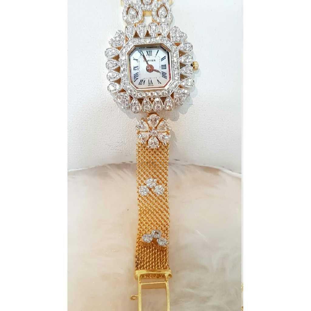 18k Ladies Fancy Gold Watch G-2922