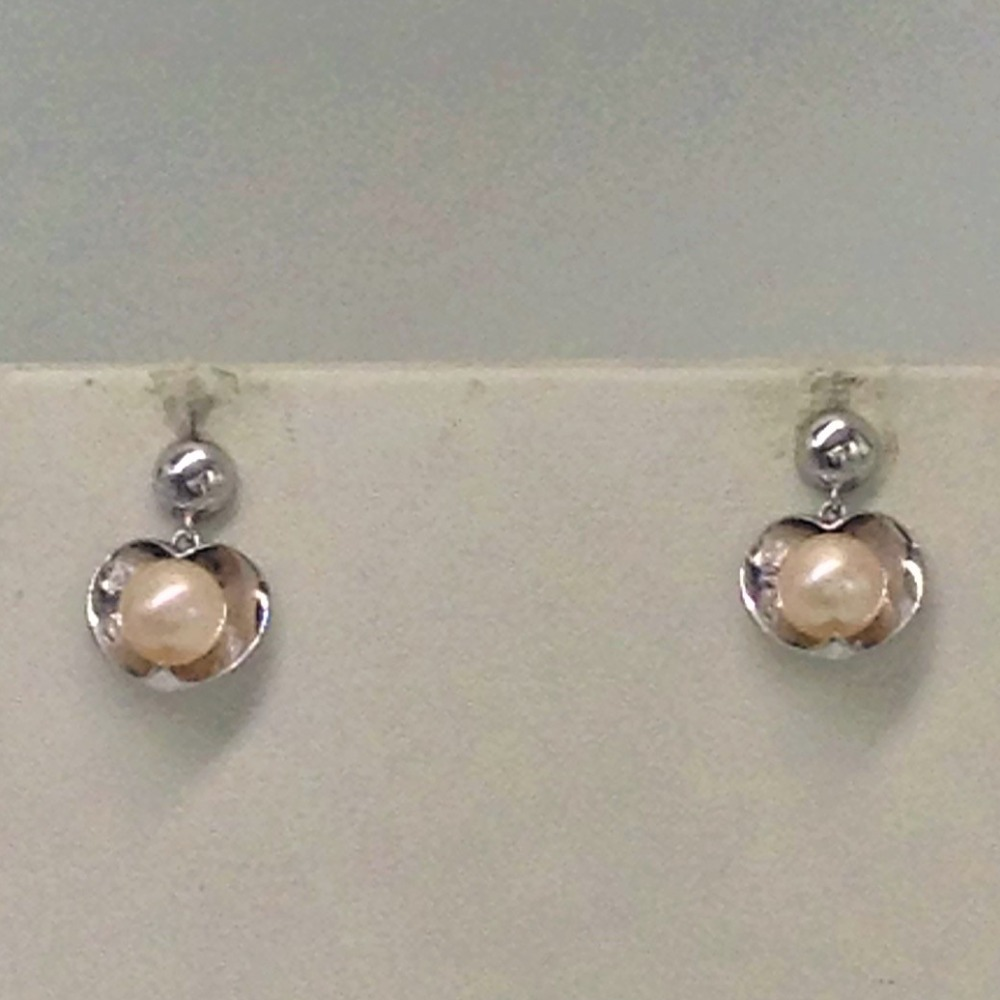 Orange pearlspendentset with orange ovalpearls mala jps0163