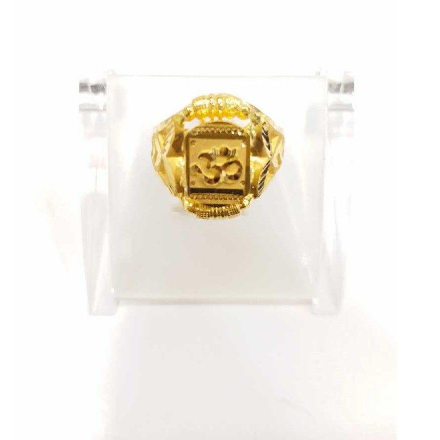 760 gold jalpari om gents rings RJ-J004