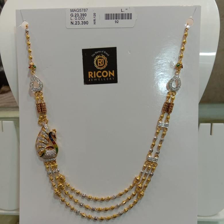 916 gold broch mala 00-5