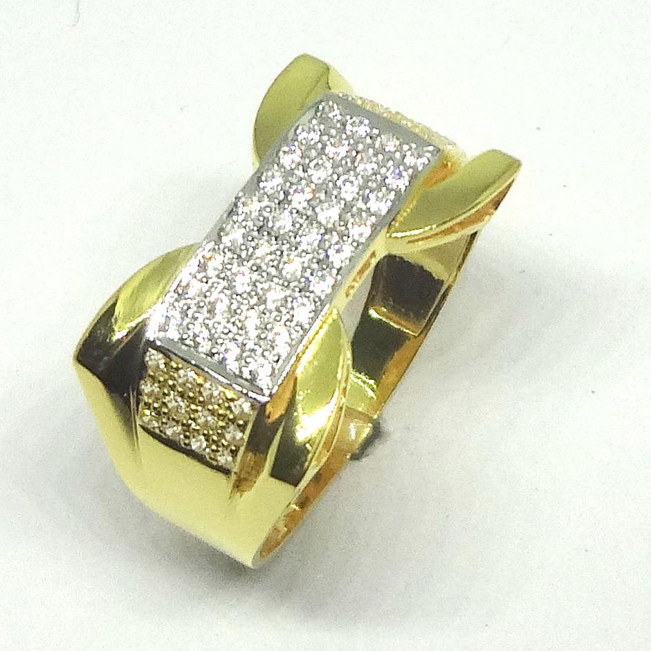 916 CZ GOLD DIAMOND RING