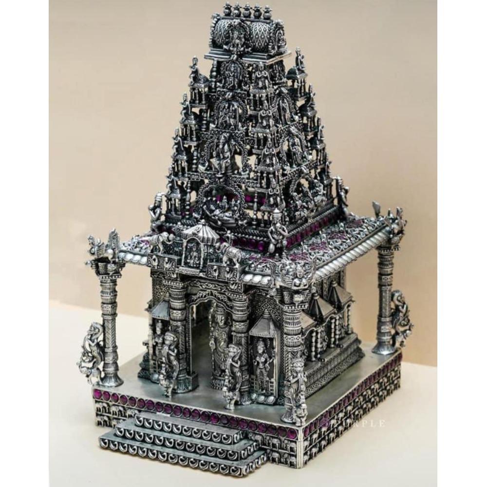 Puran glorious south india special pure silver tirupati balaji temple