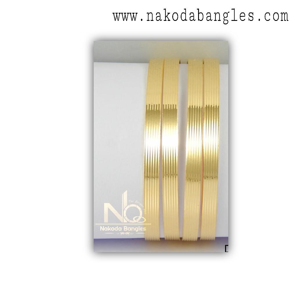 916 Gold CNC Bangles NB - 1324