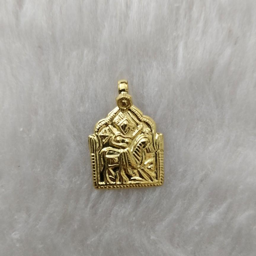 916 Gold Ramdevpir Pendant