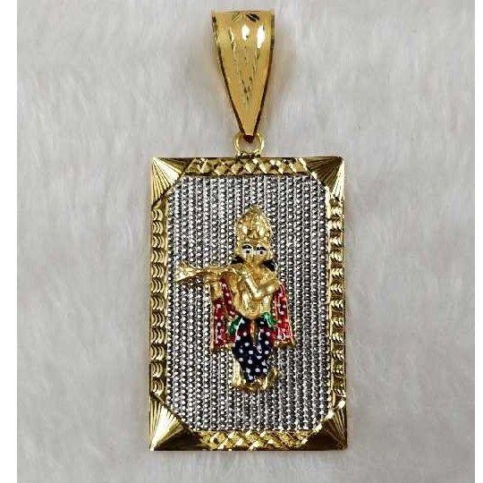22KT Gold Krishna Pendant
