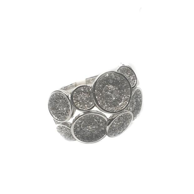 925 Sterling Silver Round Shaped Ring MGA - LRS0263
