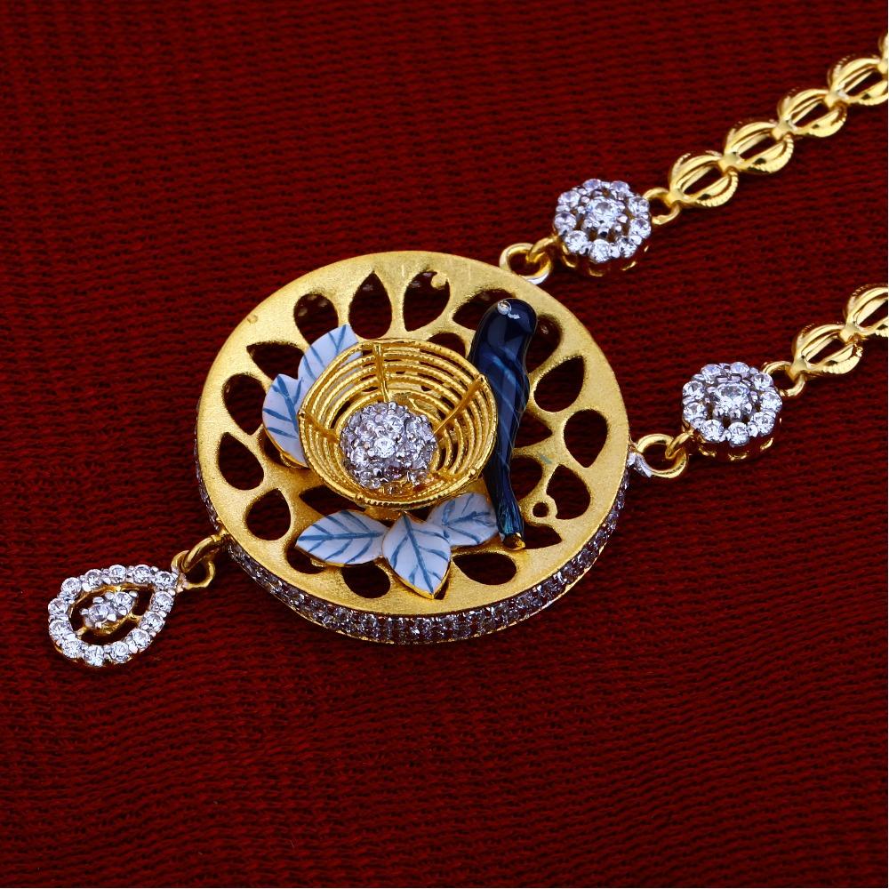 22kt Gold Hallmark  Excusive  Chain Necklace CN63