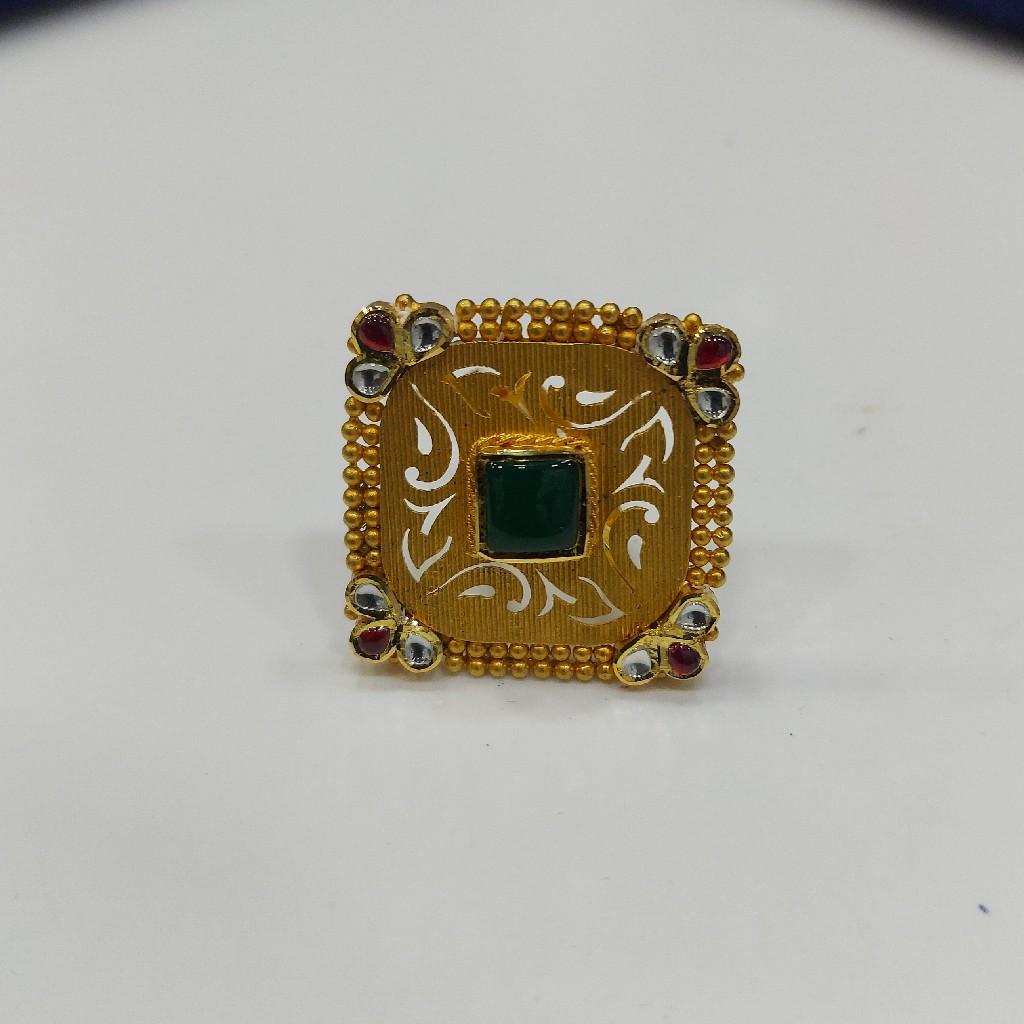 916 Gold Ladies fancy Ring