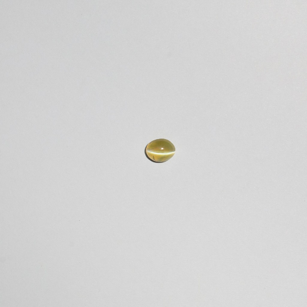 5.155ct oval bi-color cats-eye-lahsuniya