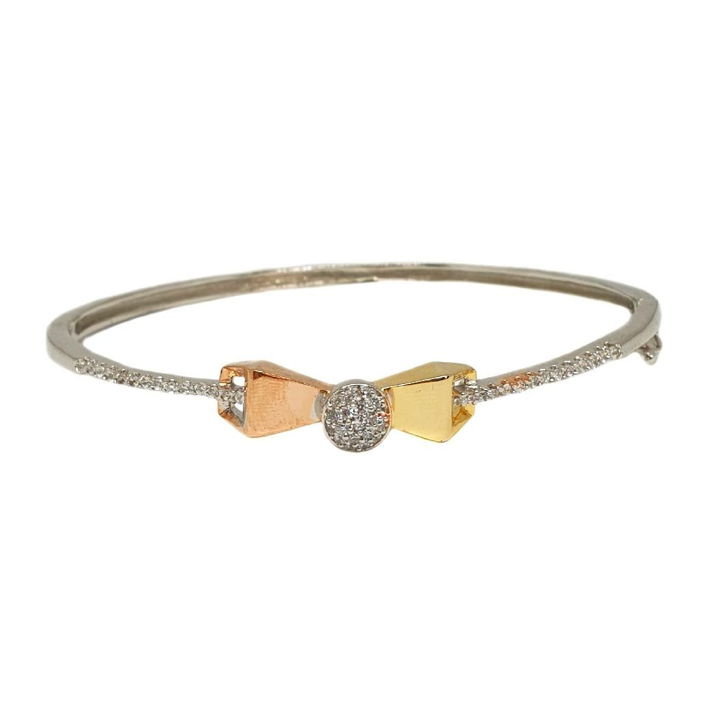 925 Sterling Silver Modern Bracelet MGA - BRS1774