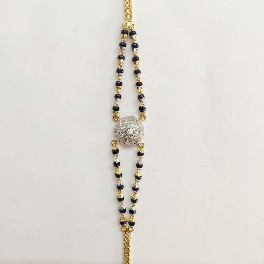 22k Gold Fancy Diamond Bracelet DVJ-017