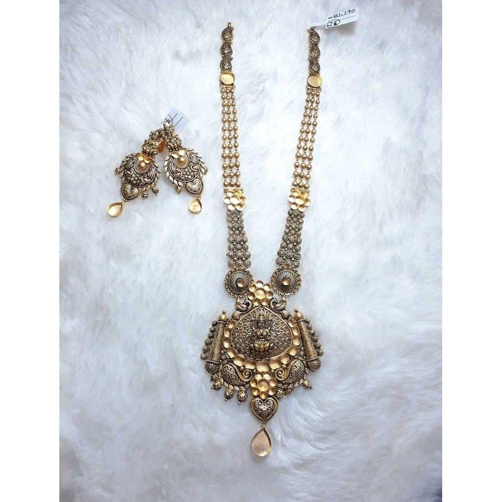 916 Antique Khokha Jadtar Necklace Set