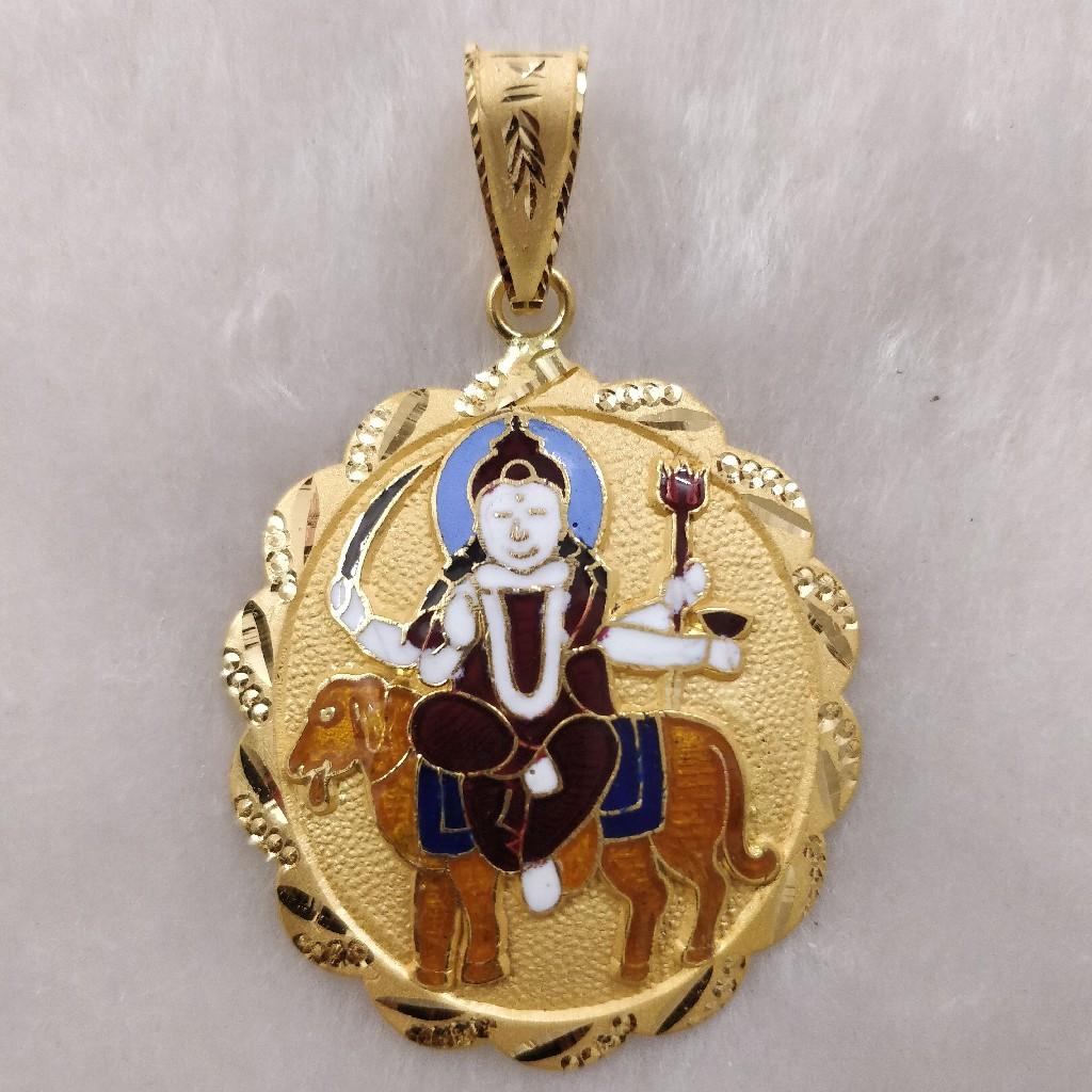 916 Gold Hadakai Maa Pendant