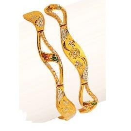 22K/916 Gold Antique Variya Kadli