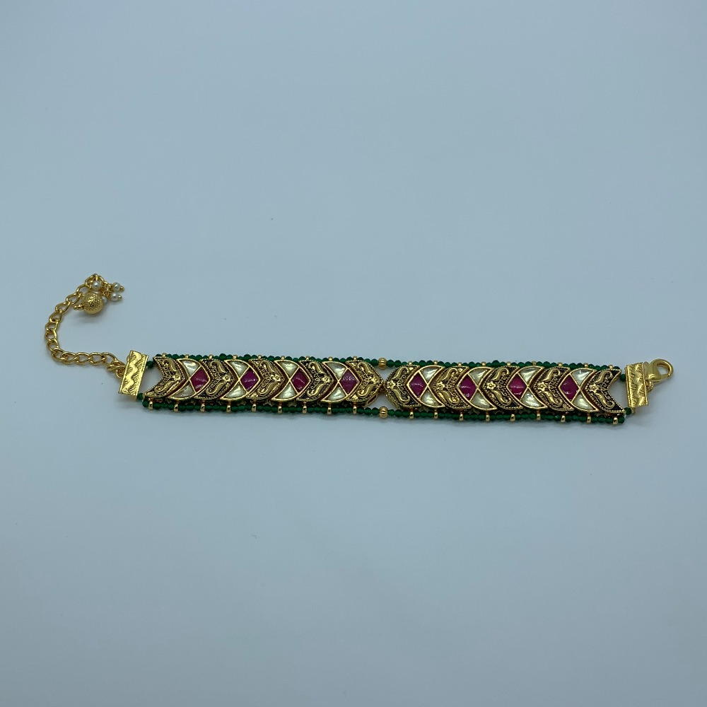 Designer Kundan Bracelet For Women