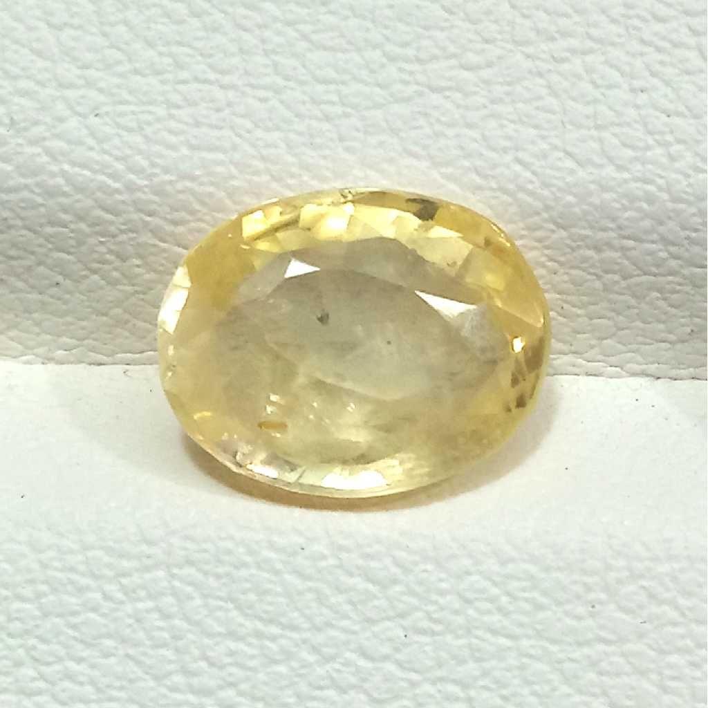 3.40ct oval yellow yellow-sapphire-pukhraj