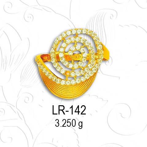 916 ladies ring LR 142
