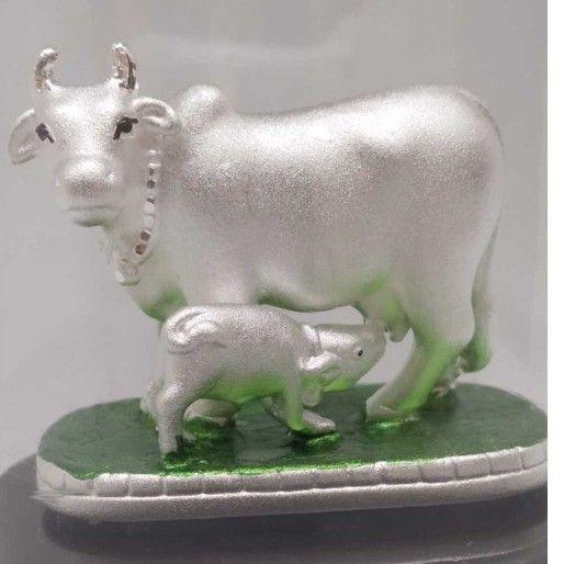 999 Pure Silver COW-CALF Idols