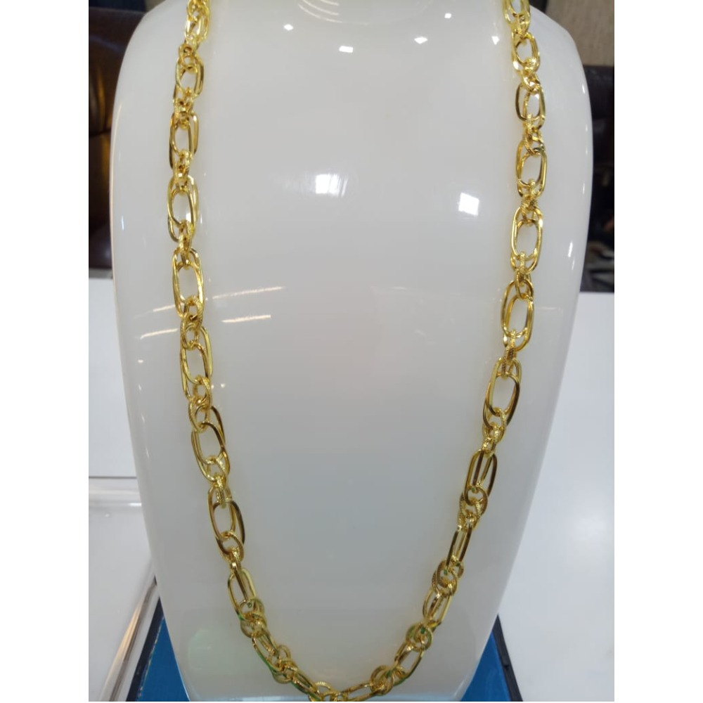 916 Gold Stylish Indo Italian Chain SVJ-C003