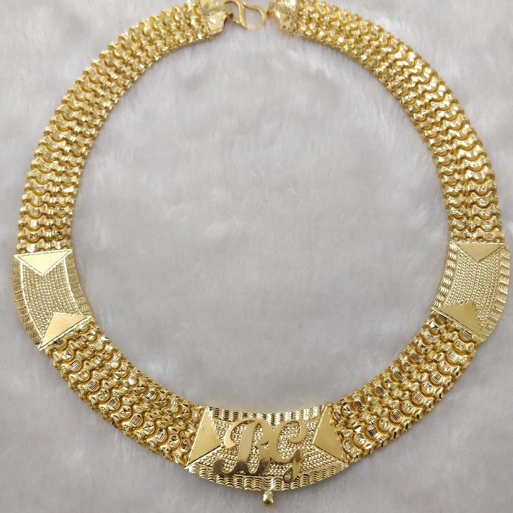916 Gold Fancy Gent's Chain
