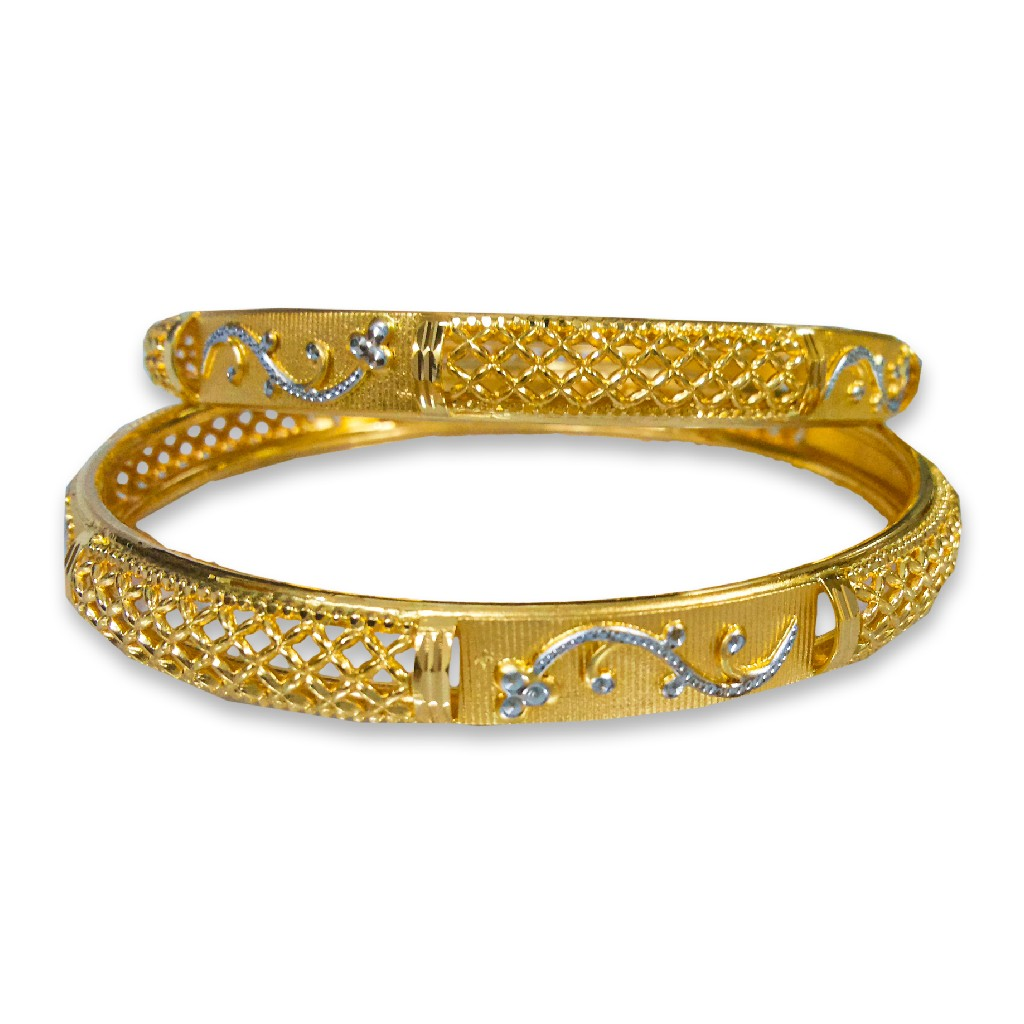 BEAUTIFUL DESIGNED GOLD COPPER KADLI BANGLE