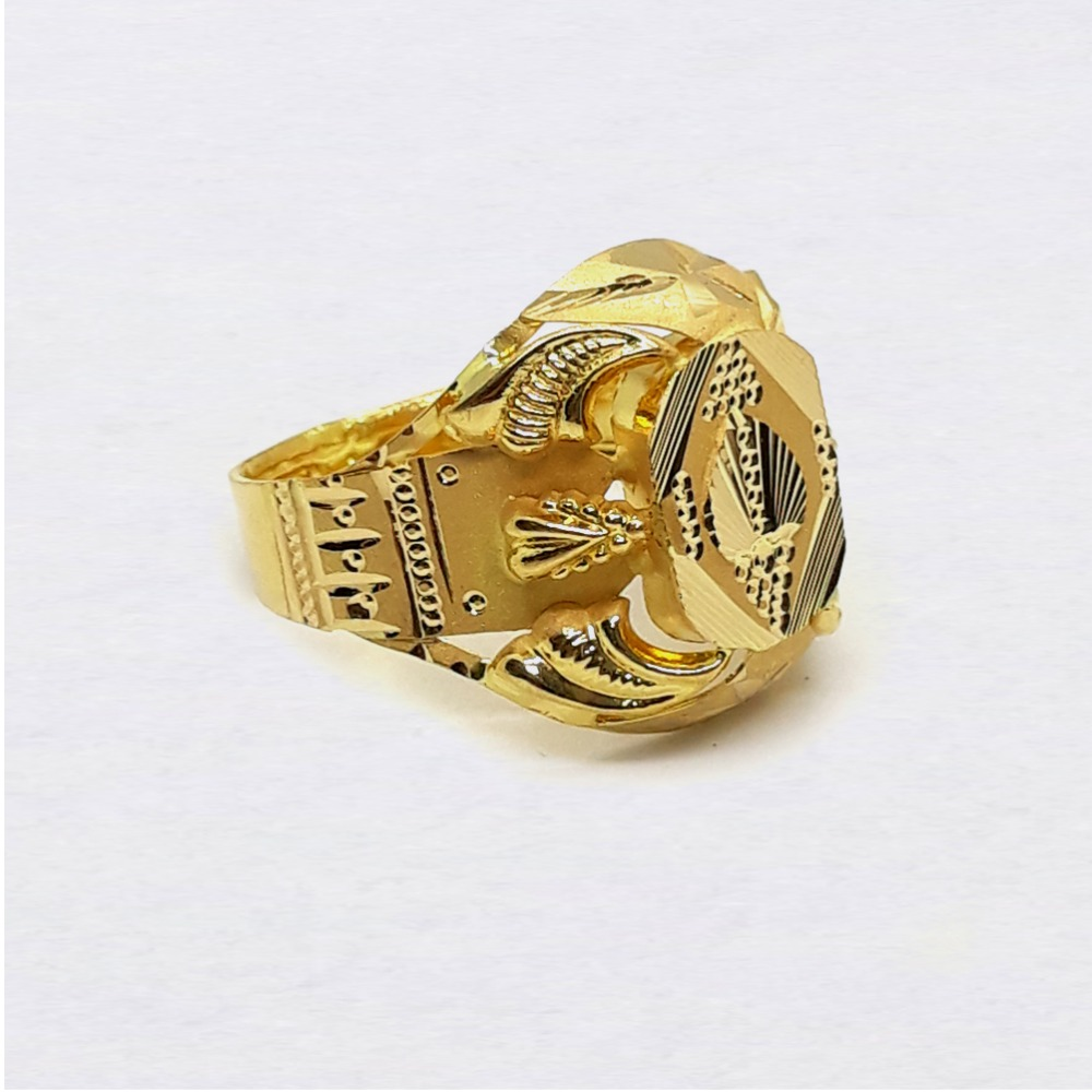 Nazrana Gold Anguthi For Men