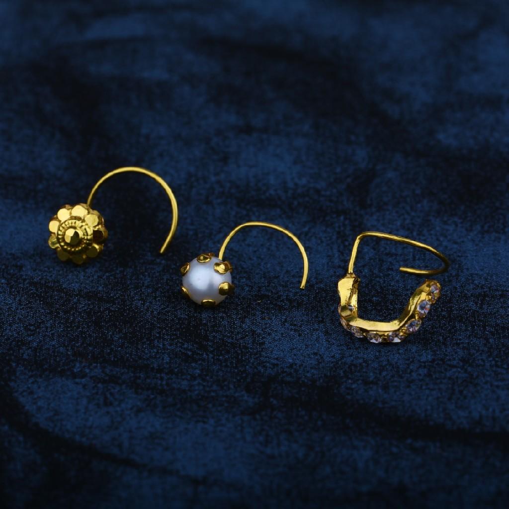 gold nosepin (kantti)