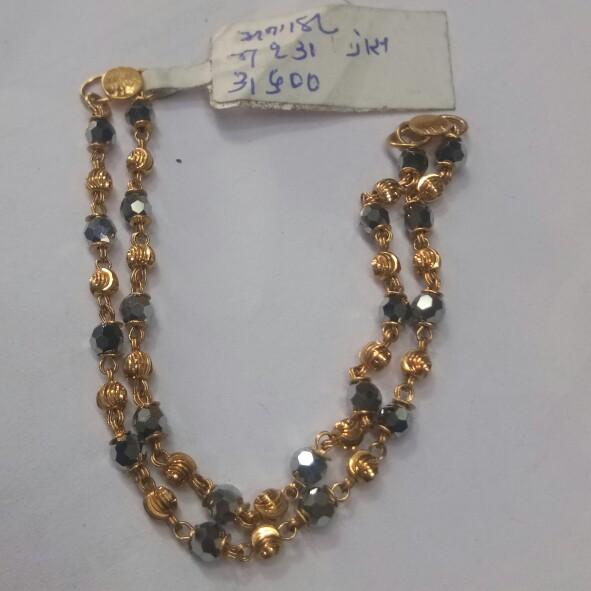 916 Gold hallmark mangantha LX3019