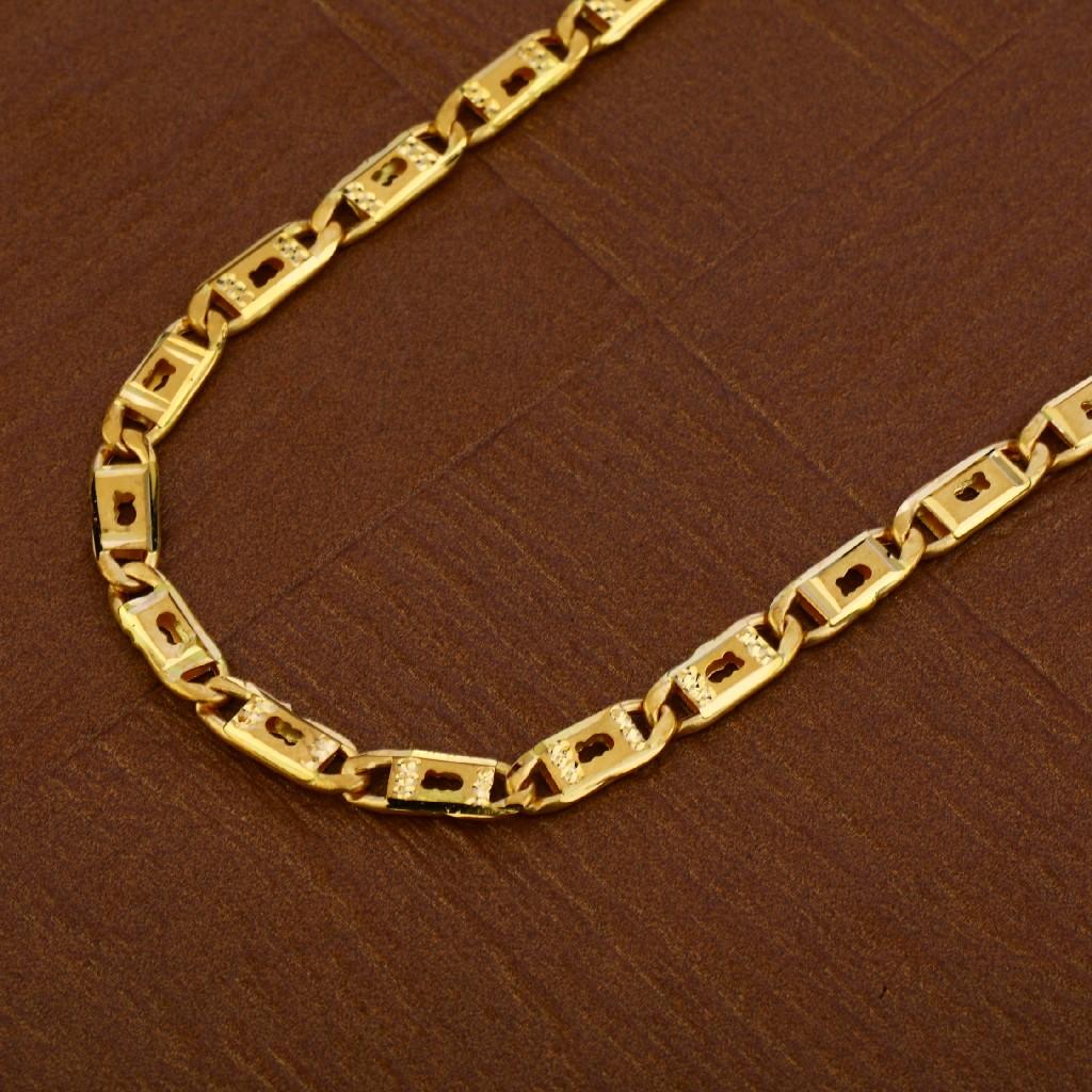 Mens 22K Gold Chain-MNC32
