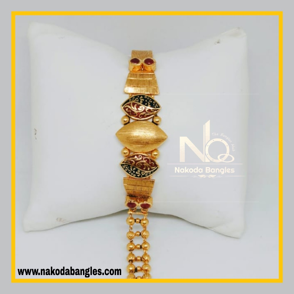 916 Gold Antique Bracelet NB - 559