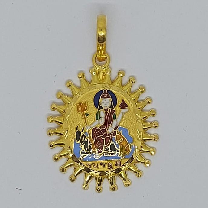 916 Gold Fancy Jahu Maa Pendant