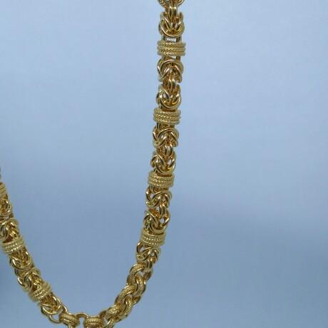 916 HM Gold Indo-Italian Chain MJ-CH-001