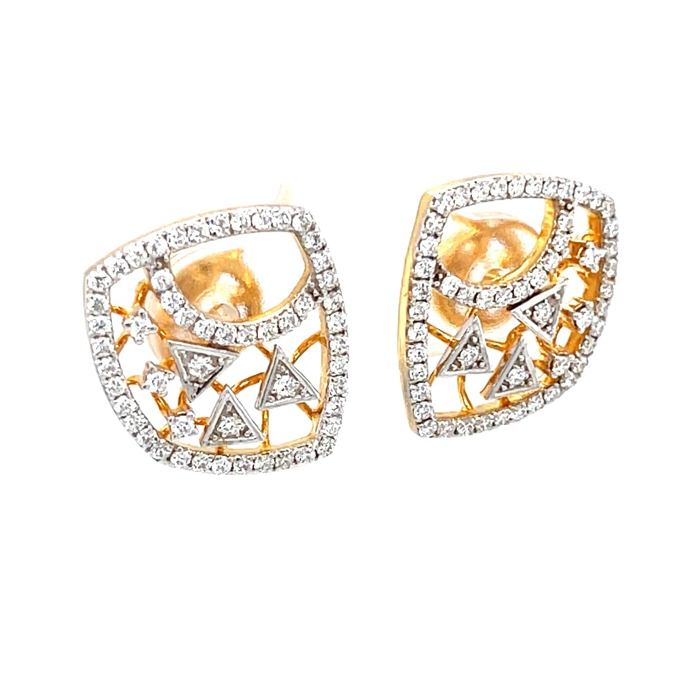 Abstract design diamond tops for everyday wear 9top156