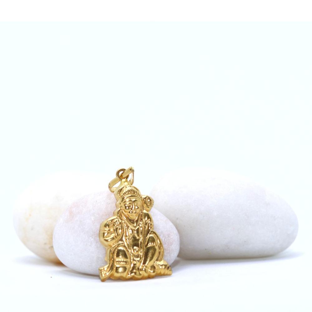 22KT / 916 Gold Delicate Hanumanji Pendant For Universal PNG0105