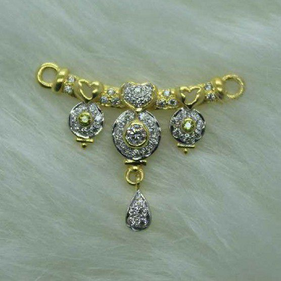 916 Gold Mangalsutra Pendant