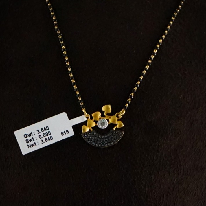 916 Gold Stylish Mangalsutra MPG0311