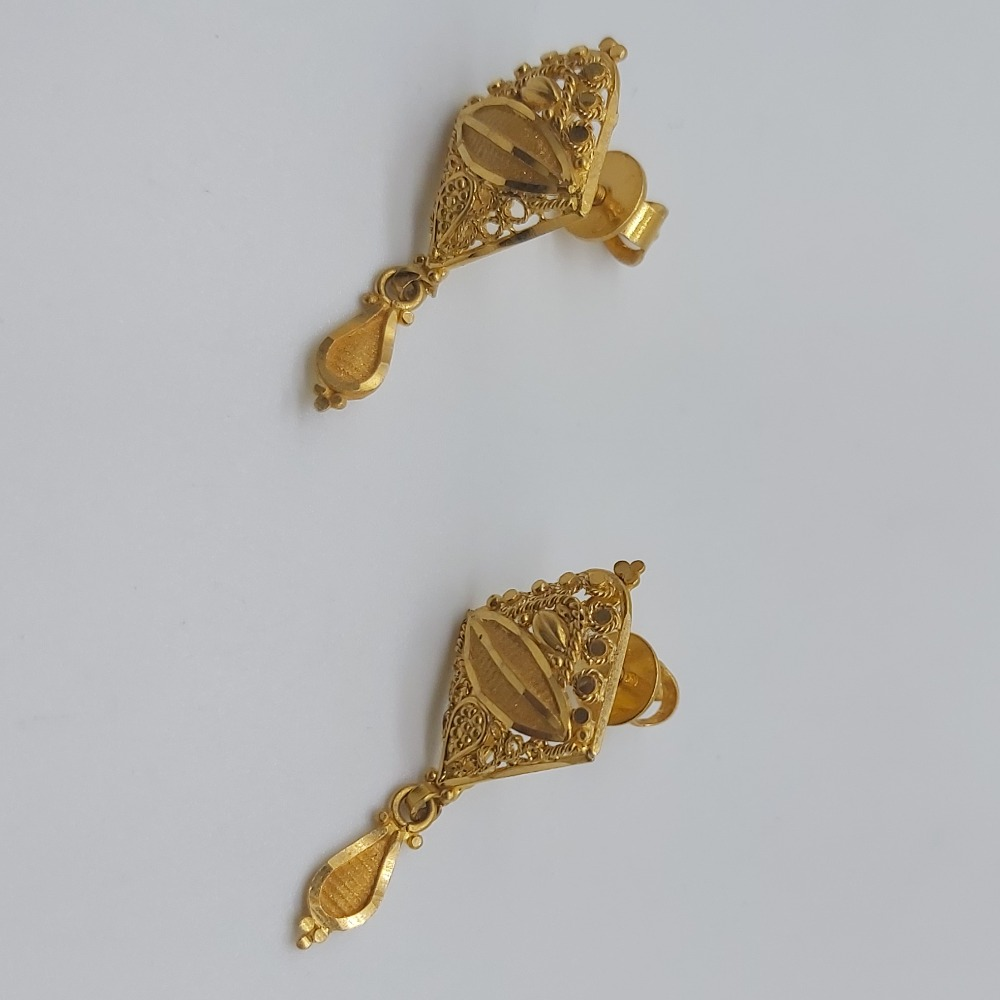 gold fancy stylish delicate necklace set