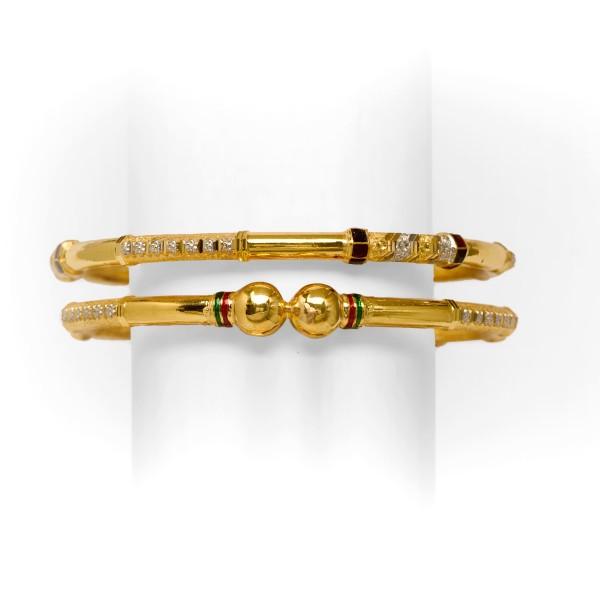 916 Gold Copper Ball design kadli