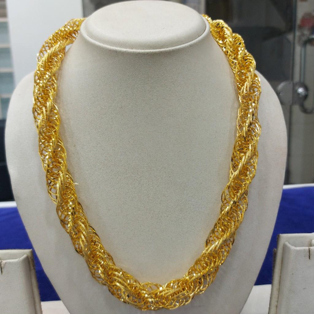 916 Gold Fancy chain RJ-C001