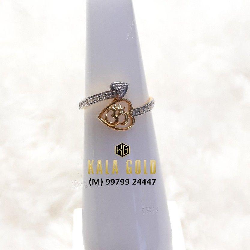 916 Light Weight Om Ladies Ring