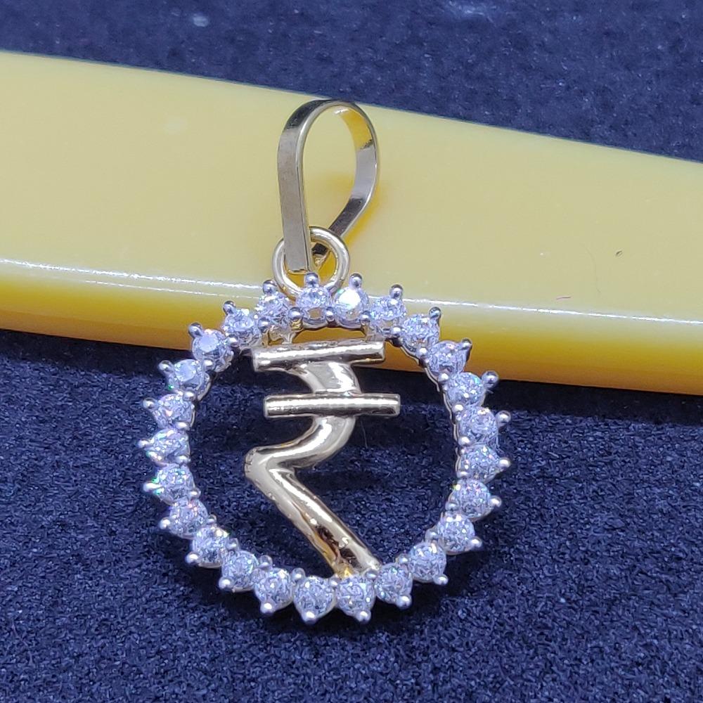 18 ct gold pendant